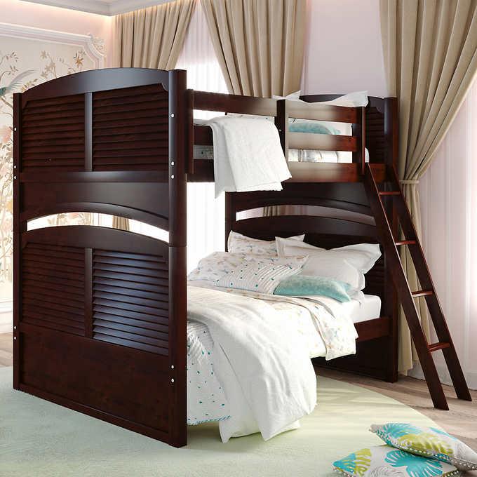 Eaton Full Over Full Bunk Bed Costco