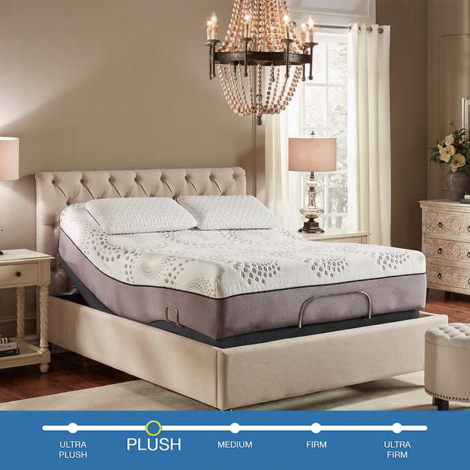 Ara Memory Foam Mattress, How Much Does A Split King Adjustable Bed Costco Cost