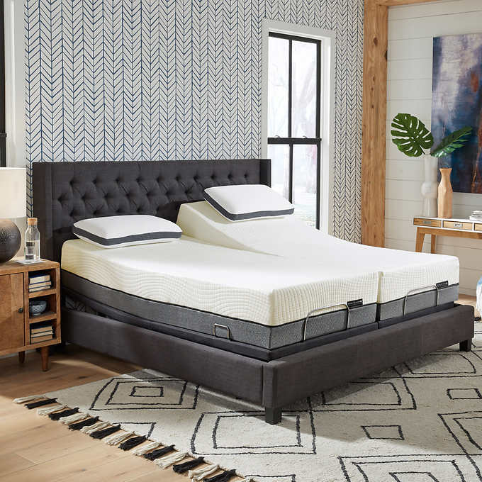 Sleep Science 13 Bamboo Cool Mattress, How Much Does A Split King Adjustable Bed Costco Worth