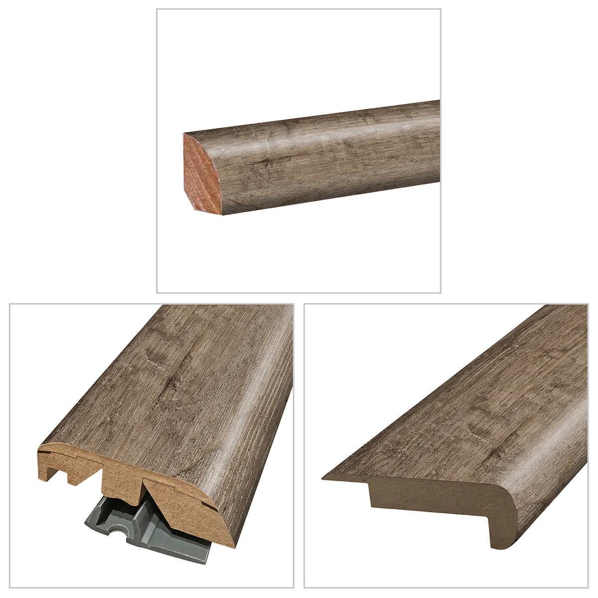 Mohawk Home Westmere Oak Laminate Floor, Mohawk Laminate Flooring Transitions
