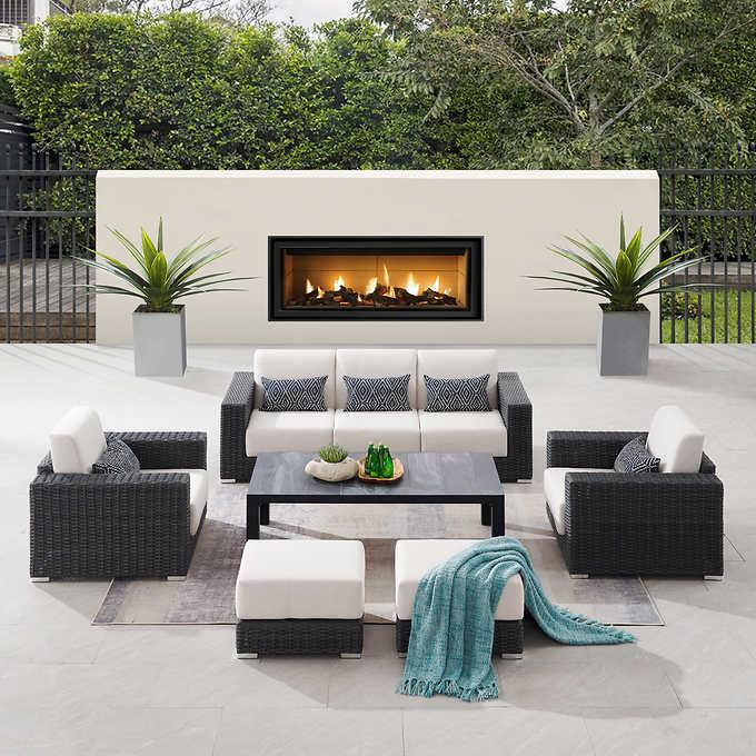 Sirio Eden 6 Piece Deep Seating Set, Smart Living 6 Piece Patio Set