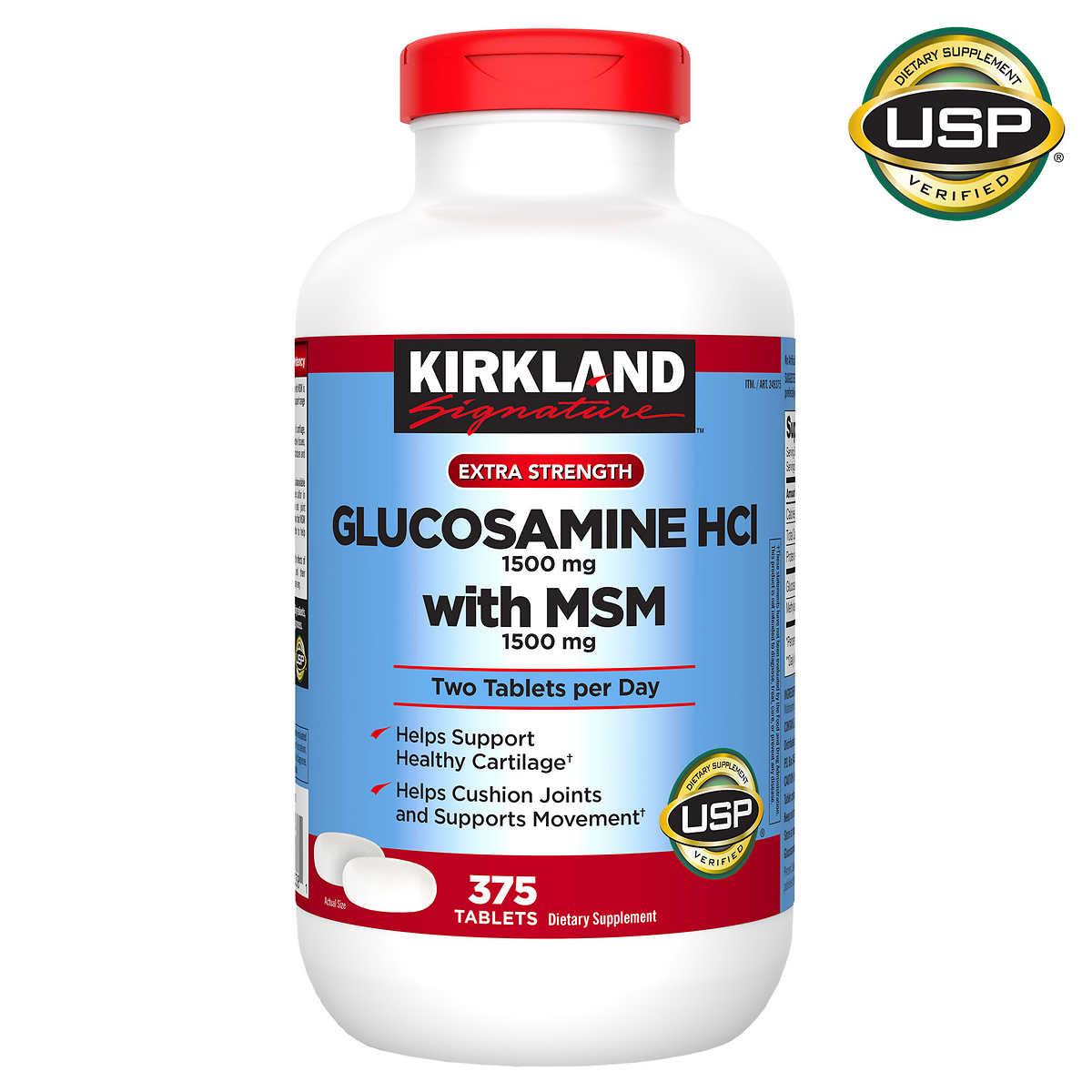 glucosamine chondroitin msm)