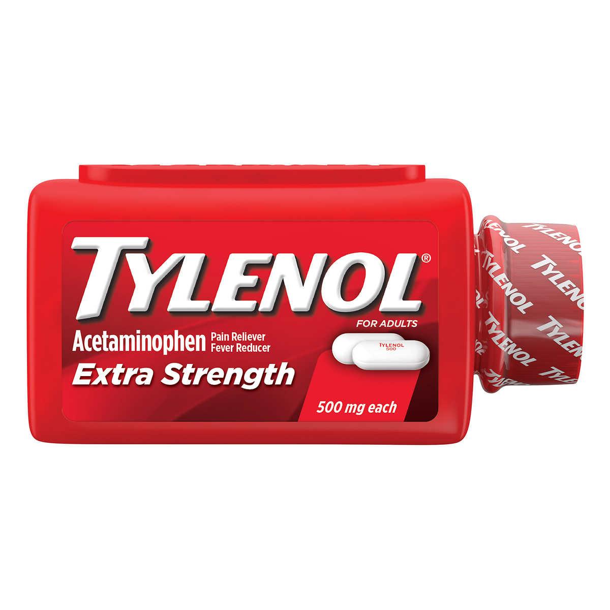 Tylenol Extra Strength 325 Caplets