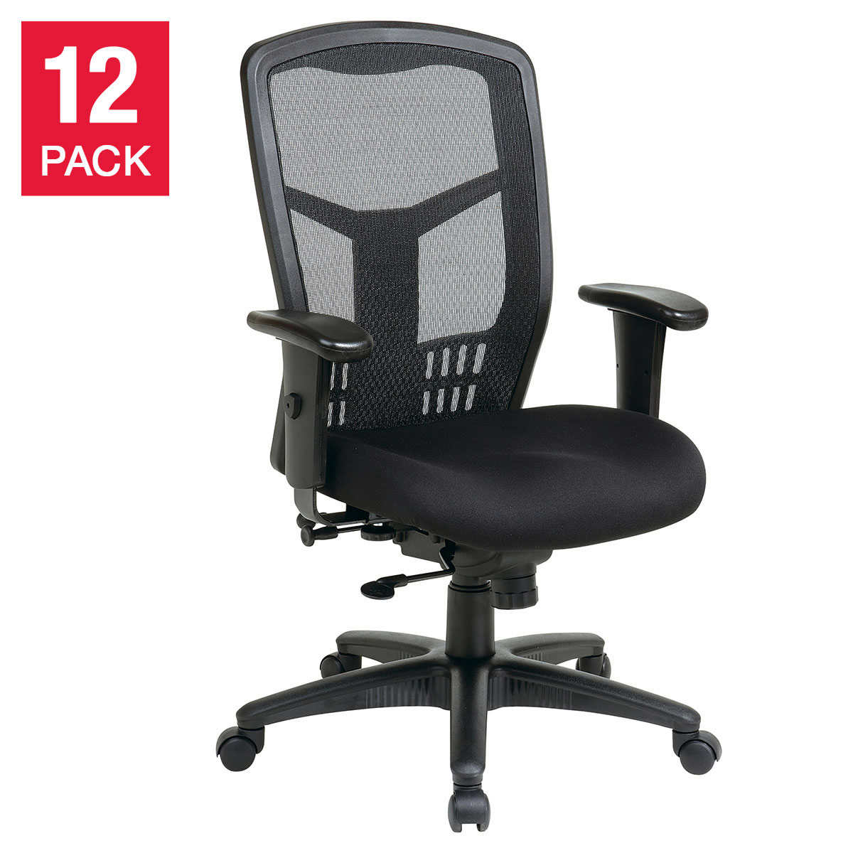 ProGrid High Back Managers Chair, 45-pack