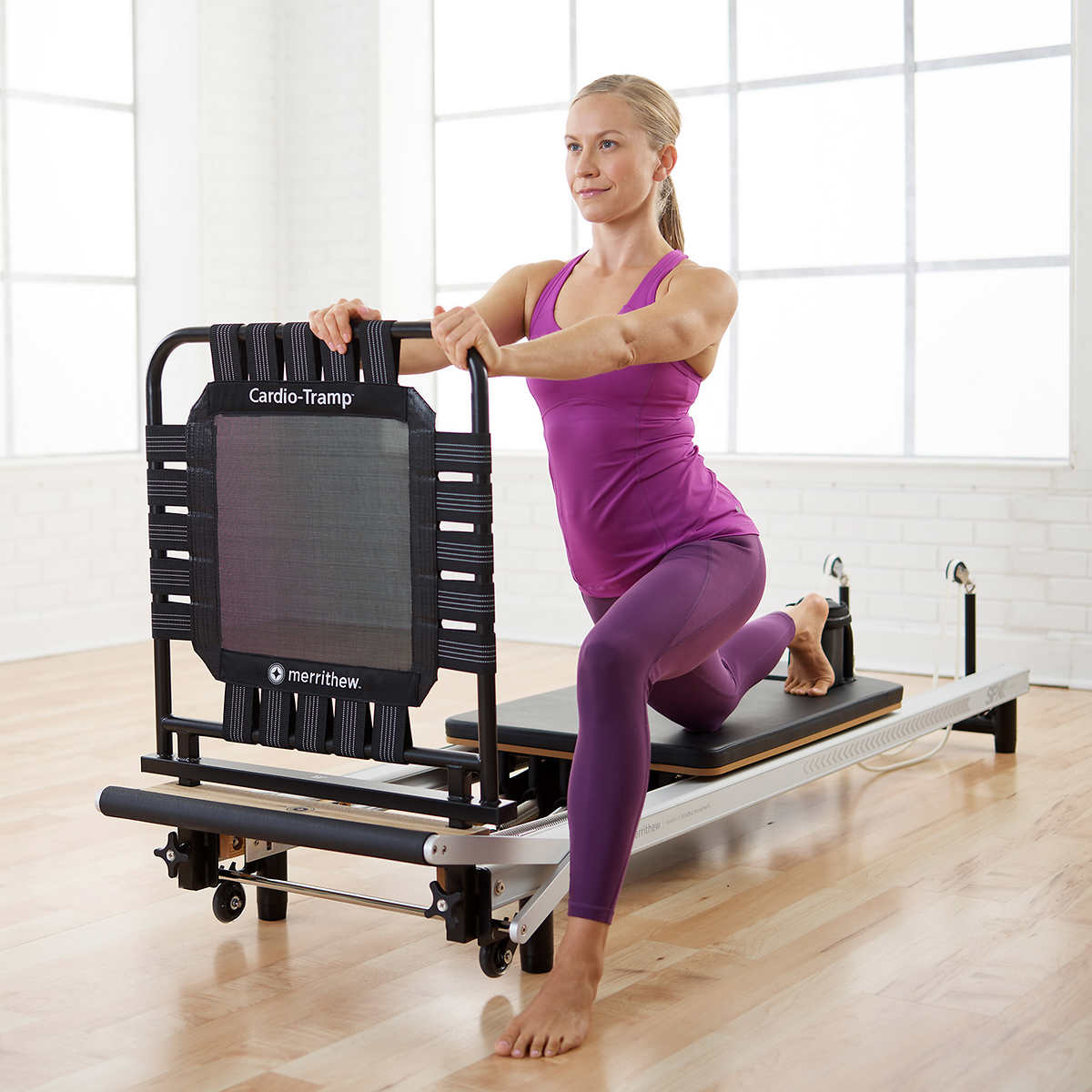 At Home Spx Reformer Cardio Package With Digital Workouts By Merrithew Stott Pilates