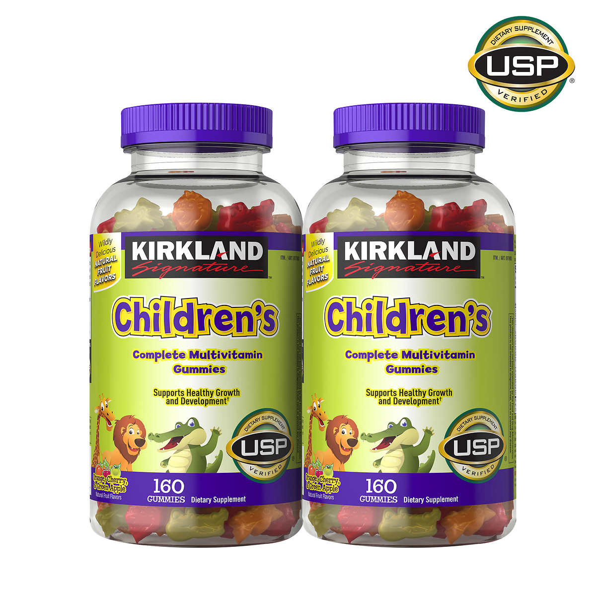 Kirkland Signature Children S Complete Multivitamin 320 Gummies