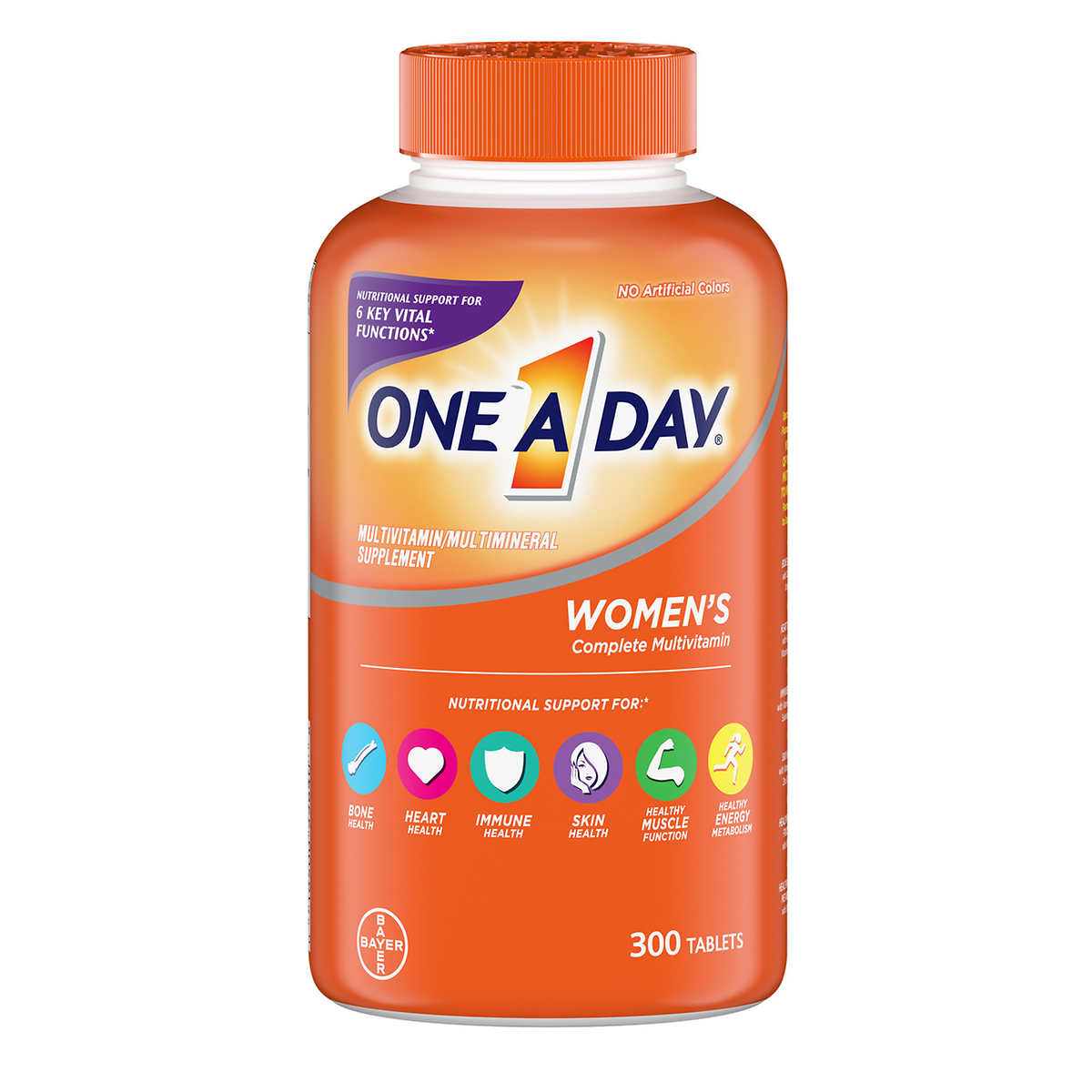One A Day Women S Multivitamin 300 Tablets