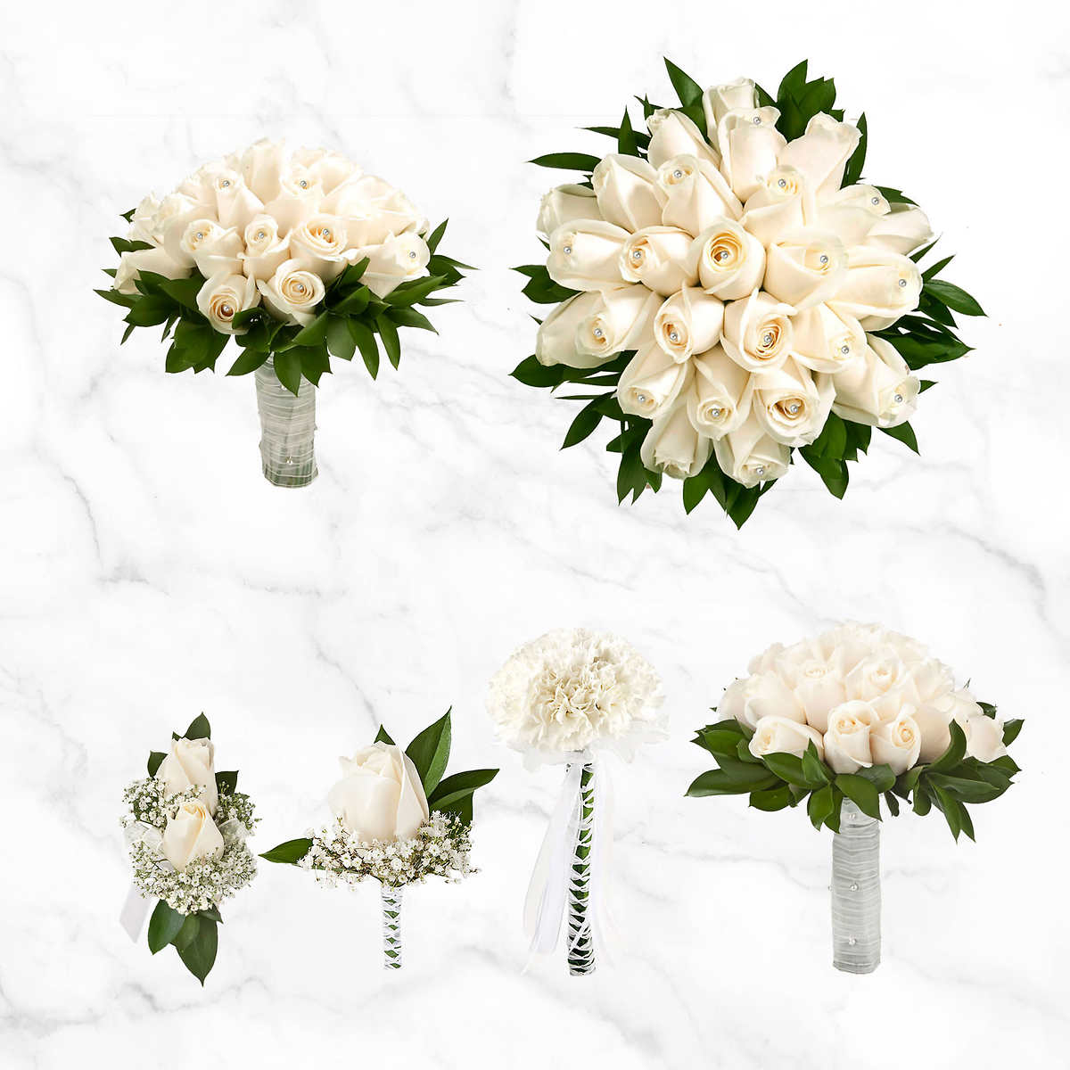 Simply Elegant Rose Wedding Collections