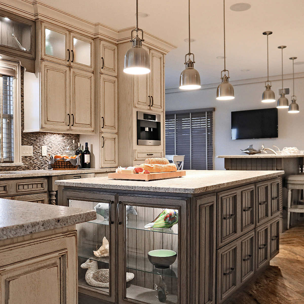 Full-Custom Cabinets by Tuscan Hills Kitchens & Baths Ships in 5-5 weeks