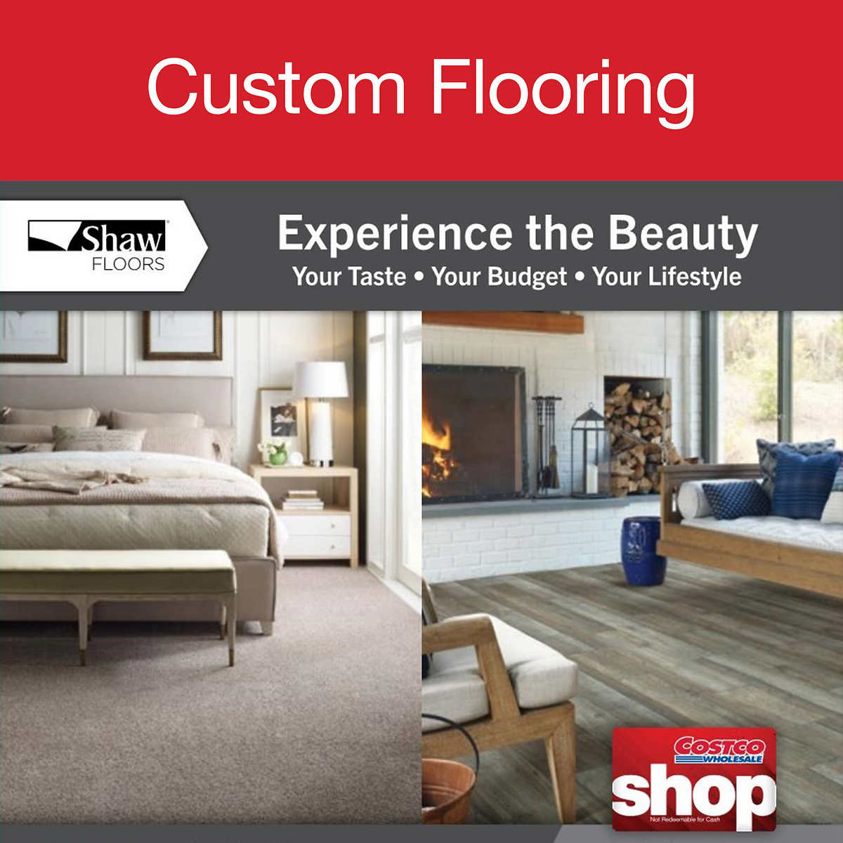 Shaw Carpet Hardwood Waterproof Resilient Vinyl Plank And Water