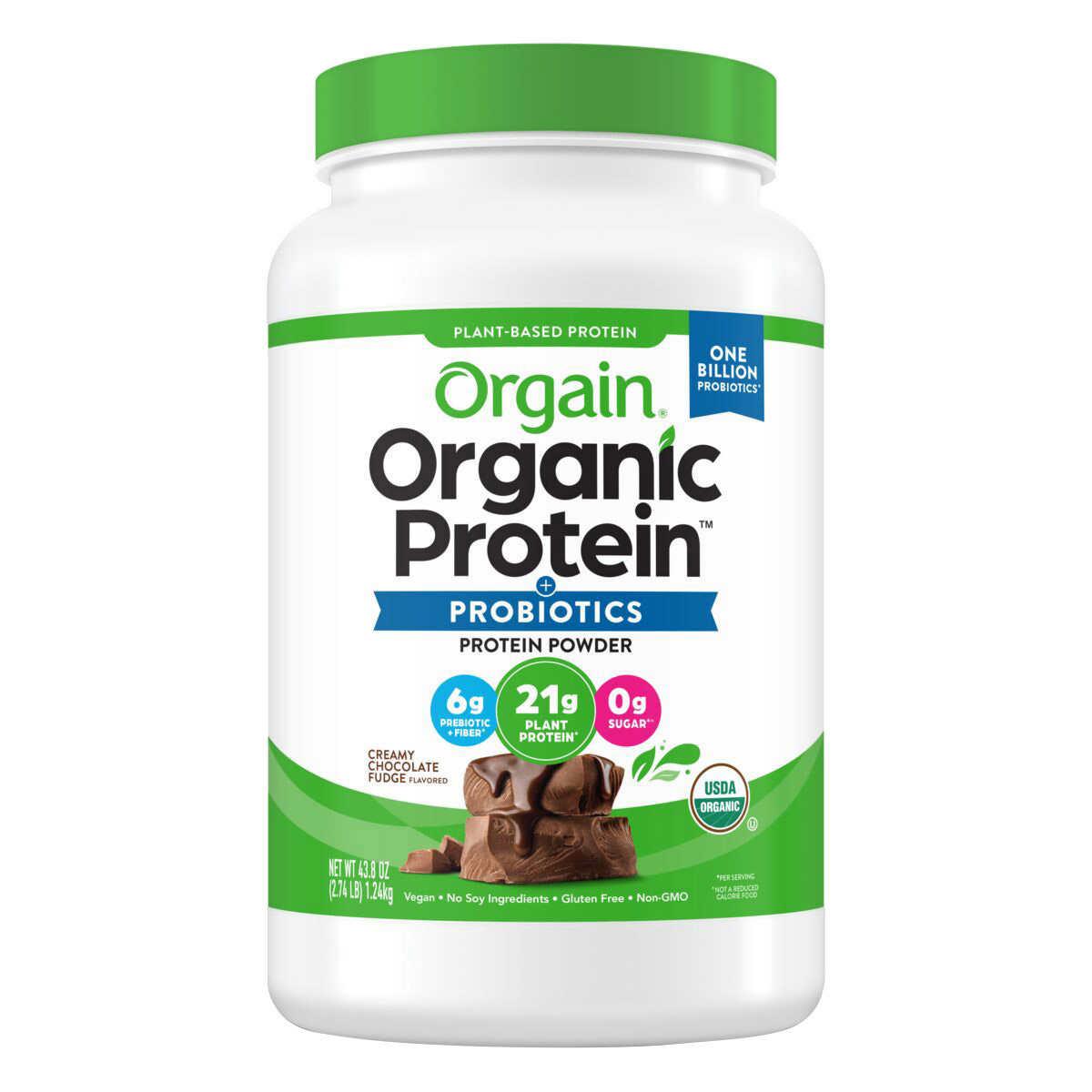 is orgain organic protein powder good keto diet