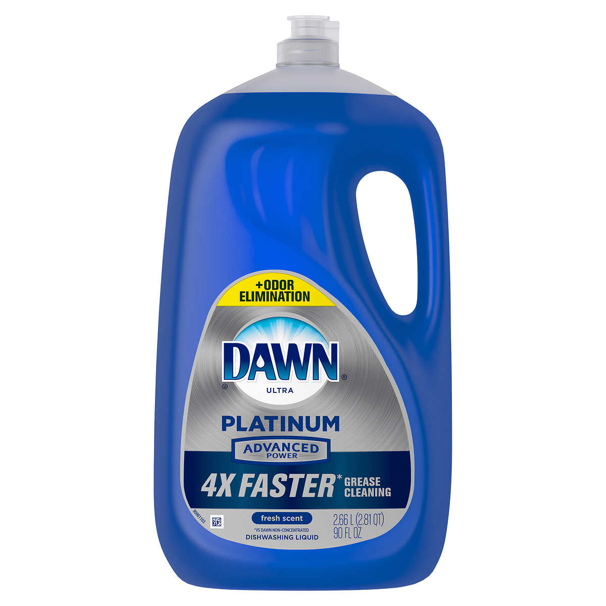 Dawn Platinum Advanced Power Liquid Dish Soap 90 Fl Oz Costco