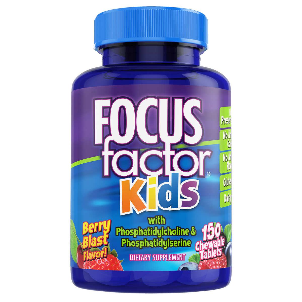 Focusfactor Kids 150 Chewable Tablets