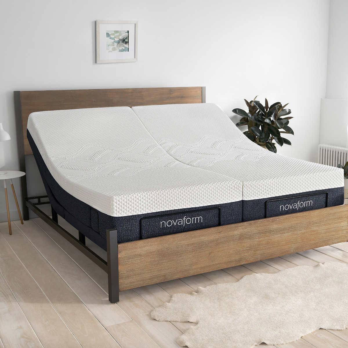Split King Gel Memory Foam Adjustable, How Much Does A Split King Adjustable Bed Costco Cost