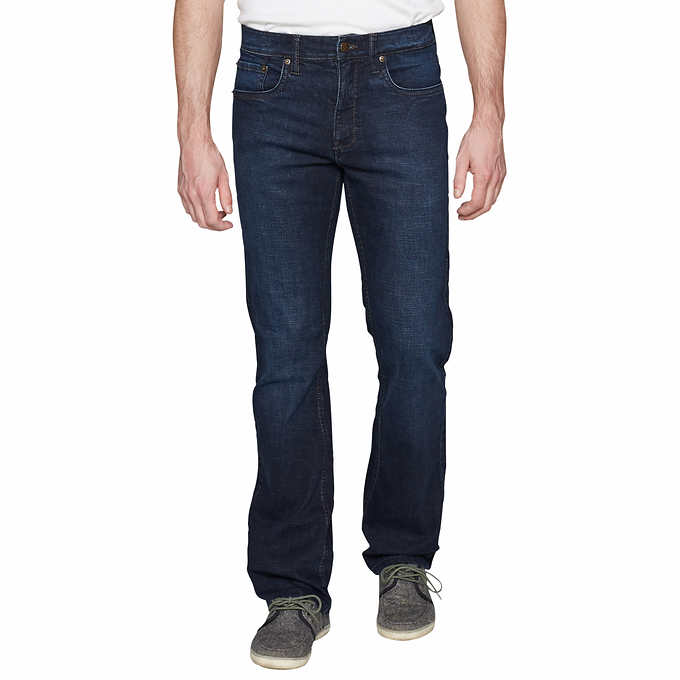 Urban Star Men/'s Stretch Relaxed Fit Straight Leg Jean.