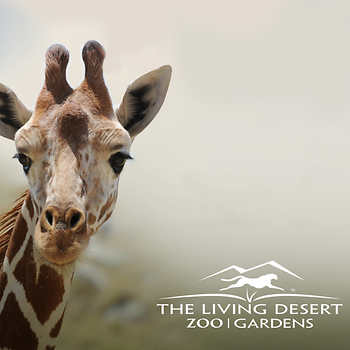 The Living Desert Zoo Gardens 2 Admission Etickets