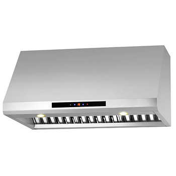 ancona pro series under cabinet 30 or 36 range hood with