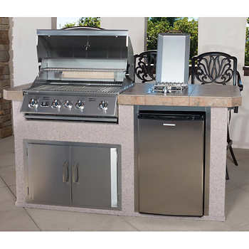 Urban Islands 4 Burner 6 39 Outdoor Kitchen Island By Bull Outdoor Products