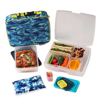 bentology 13pc school lunch set. Black Bedroom Furniture Sets. Home Design Ideas