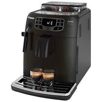 Saeco Intelia Focus Deluxe Fully Automatic Espresso Machine