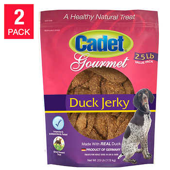 Cadet Natural Duck Jerky Dog Treats