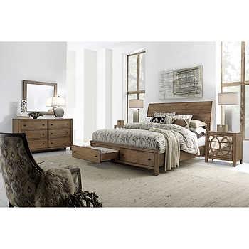 audrey 5 piece queen storage bedroom set