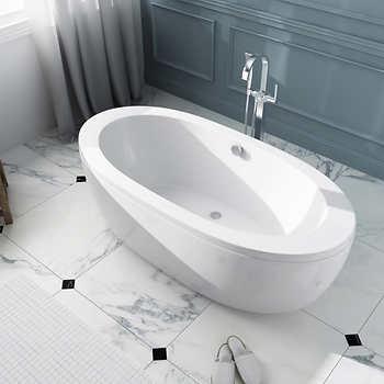 ove decors dalit 69 freestanding bathtub. Black Bedroom Furniture Sets. Home Design Ideas