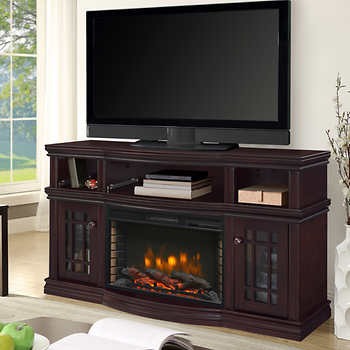 Electric Fireplace Tv Console At Costco Budgetcostco