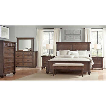 andaluz 7 piece king bedroom set