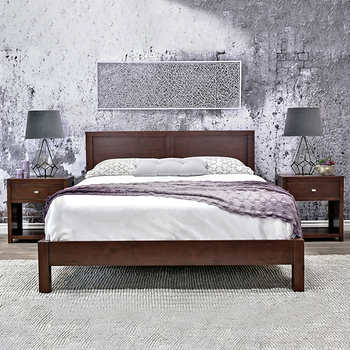 pacifica king platform bed. Black Bedroom Furniture Sets. Home Design Ideas
