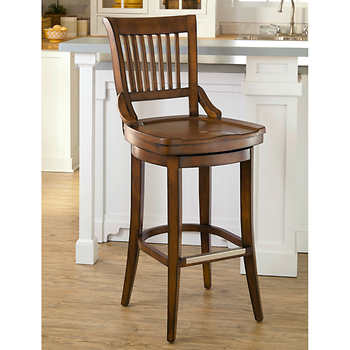 lacrosse 34 swivel barstool. Black Bedroom Furniture Sets. Home Design Ideas