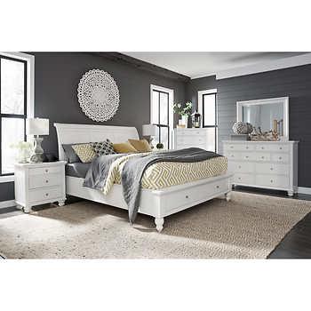 Ashfield 6 piece cal king storage bedroom set - California king storage bedroom sets ...
