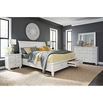 Ashfield 5 Piece Queen Storage Bedroom Set