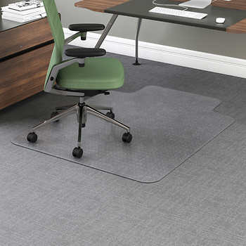 office impressions chair mat for carpet 36 x 48 w lip clear