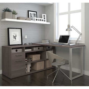 Solay l shaped desk - Costco office desk ...