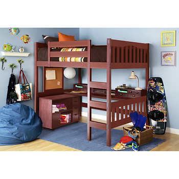 Tyler Full Study Loft Bed
