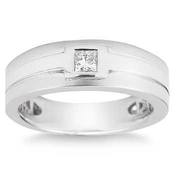 cut ct vs2 clarity i color diamond 14kt white gold men 39 s ring
