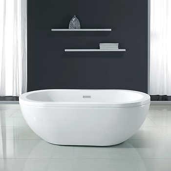 ove decors noah 63 acrylic bathtub. Black Bedroom Furniture Sets. Home Design Ideas