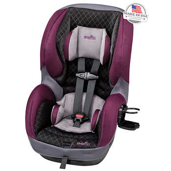 evenflo sureride 65 dlx convertible car seat sugarplum. Black Bedroom Furniture Sets. Home Design Ideas