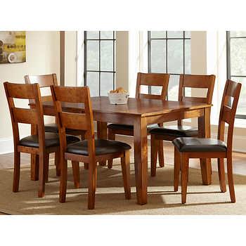 Eliott 7 piece dining set - Costco dining room set ...