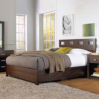 Paxton King Storage Bed