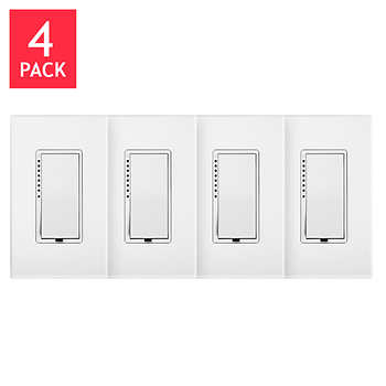 insteon dimmer switch with wall plate 4 pack. Black Bedroom Furniture Sets. Home Design Ideas