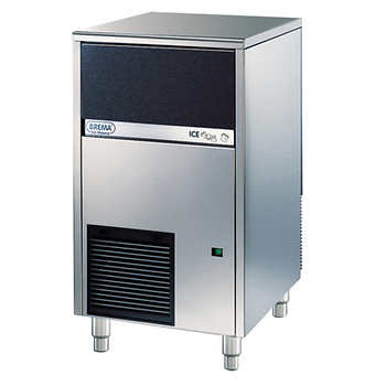 brema cb425a undercounter commercial ice cube maker with. Black Bedroom Furniture Sets. Home Design Ideas