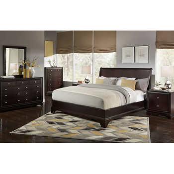 lexington 6 piece queen bedroom set