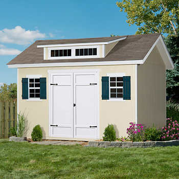 Stonecroft 12 39 x 10 39 wood storage shed for 12x10 floor register