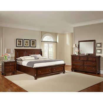 Richmond 5 Pc King Storage Bedroom Set