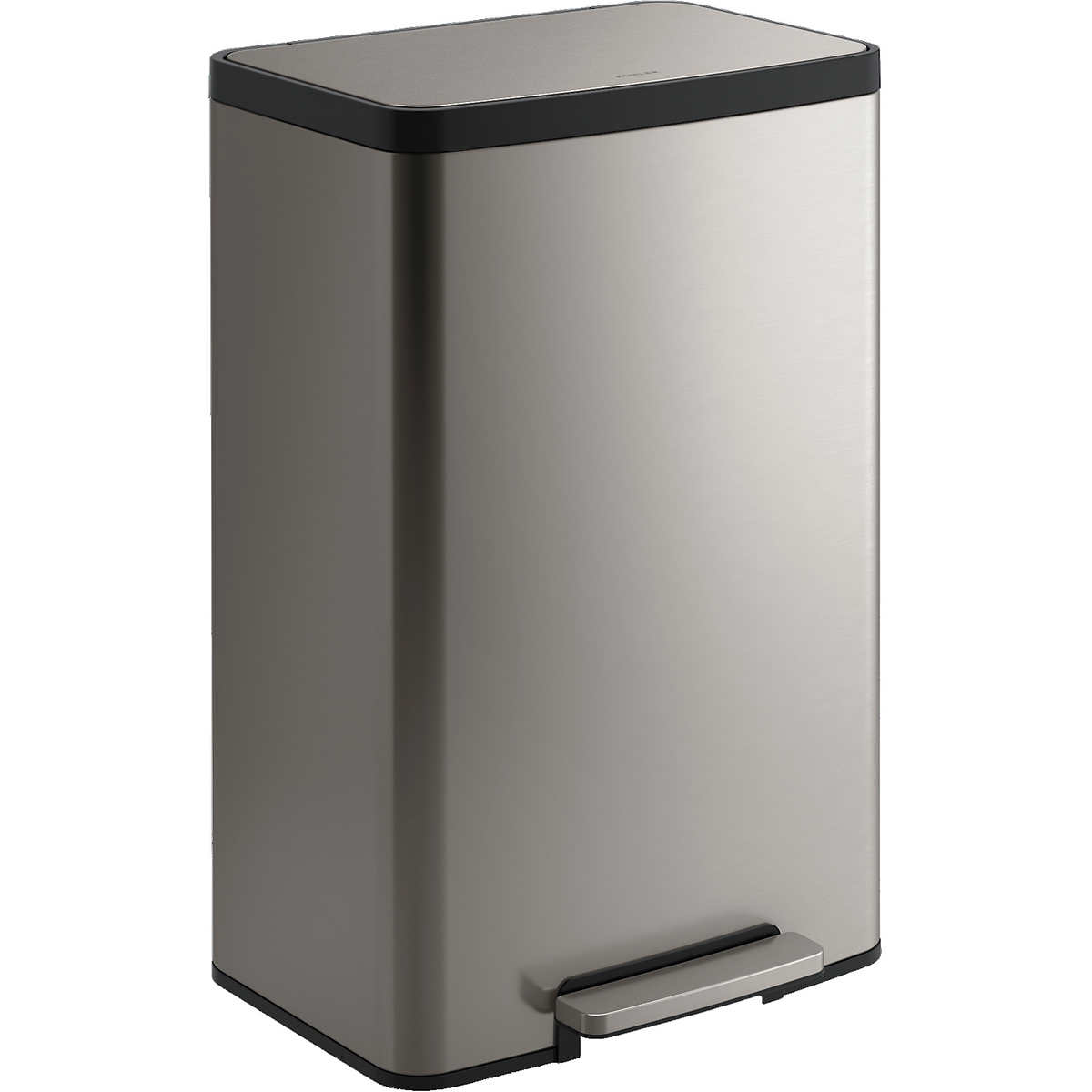 Kohler 13 Gallon Step Trash Can Stainless Steel