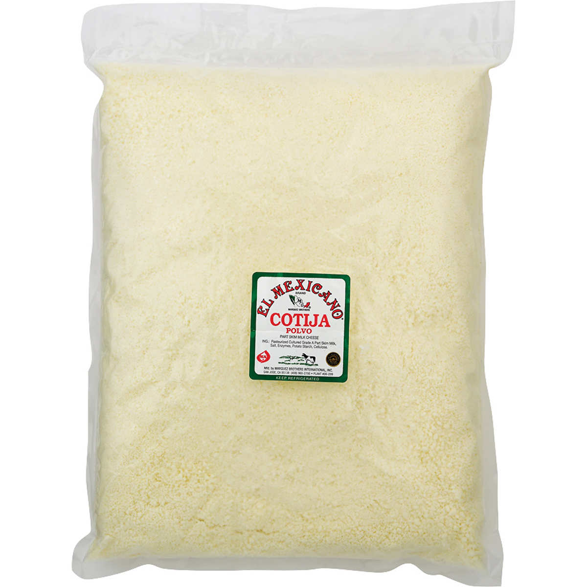 Cotija Cheese Cut Wrapped By Igourmet Cheese