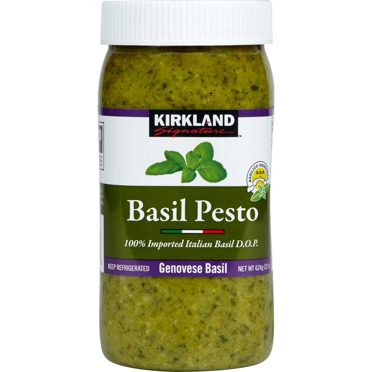 Kirkland Signature Imported Basil Pesto 22 Oz