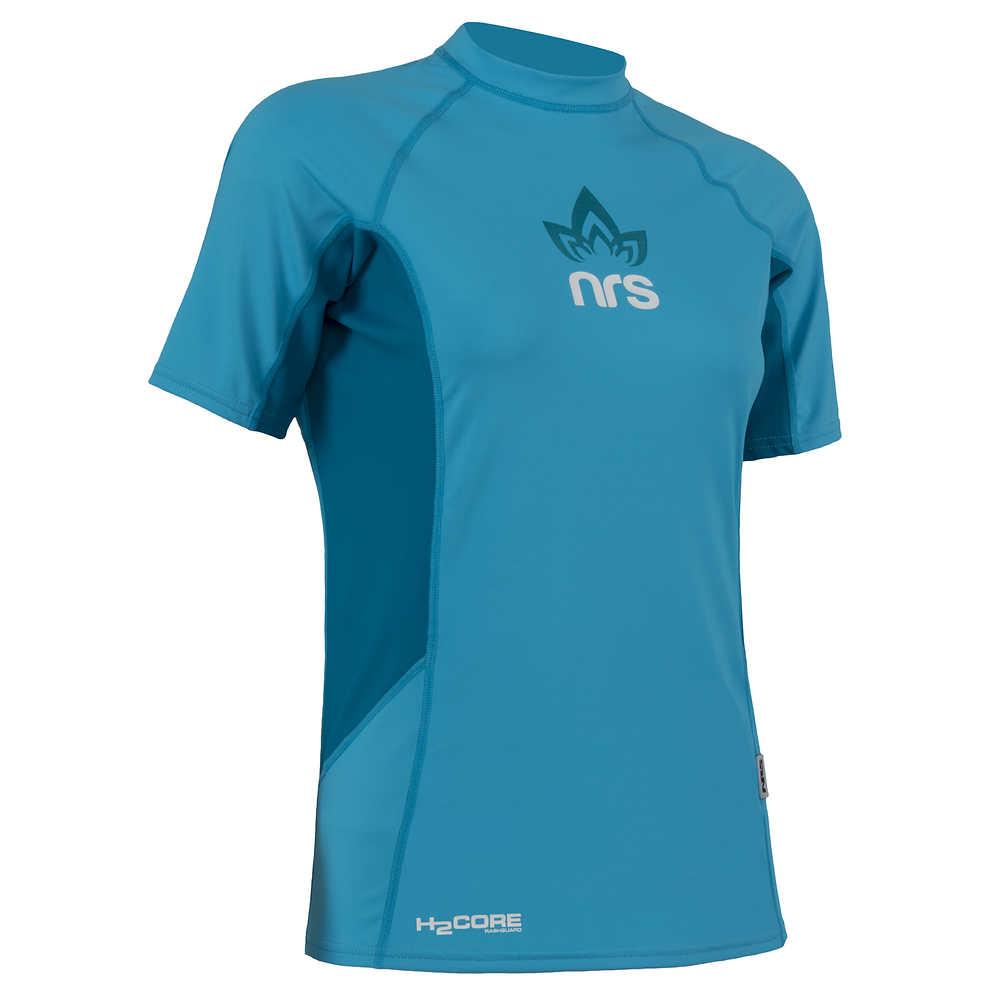 NRS Women's H2Core Rashguard Short-Sleeve Shirt - 2015 Closeout